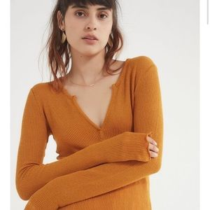 out from under scarlett notch henley top
